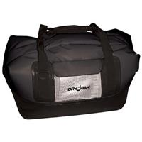 Dry Pak Waterproof Roll-top Duffel Bag, Black