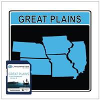 LakeMaster® 2013 Digital GPS Map Card, Iowa / Illinois / Kansas / Missouri / Nebraska