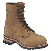 "Men's 9"" Ad Tec® Loggers, Brown"