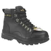 Men's 6 inch Ad Tec® Steel Toe Hikers, Black