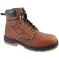 Men's 6 inch Ad Tec® Work Boots, Reddish Brown