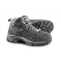Women's Ad Tec Steel Toe Suede Hikers, Black