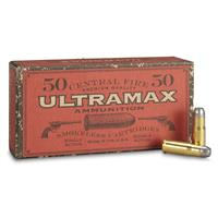 Ultramax Cowboy Action, .38-40, RNFP, 180 Grain, 50 Rounds