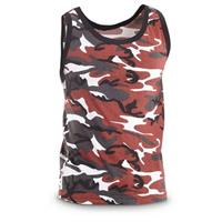 4 Tank Tops, Red Camo