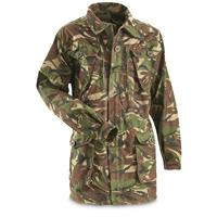 Used British Military Surplus Windproof Parka, Desert DPM Camo
