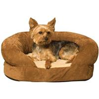 K&H™ Pet Products Ortho Bolster Sleeper™, Brown - Small