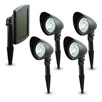 5-Pc. Solar Spotlight System