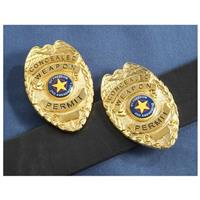 2-Pk. of Concealment Badges