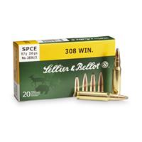 Sellier & Bellot® .308 Win.® 150 grain SPCE Ammo 20 rounds