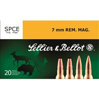 Sellier & Bellot, 7mm Rem. Mag., 173 grain, 20 Rounds