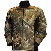 Gamehide® EVO Base Quarter-zip Bonded Fleece Pullover Jacket, Realtree Xtra®