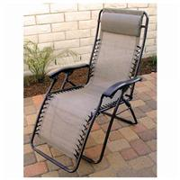 DelMar Zero Gravity Reclining Lounge Chair, Golden Harvest