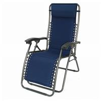 DelMar Zero Gravity Reclining Lounge Chair, California Blu