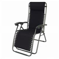 DelMar Zero Gravity Reclining Lounge Chair, Baja Black