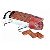 Outdoor Themed Domino Set, Fishing Lure