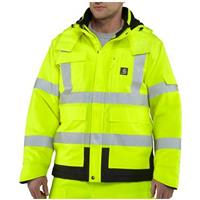 Carhartt®High-visibility Class 3 Sherwood Jacket, Brite Lime, Front