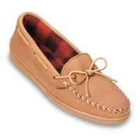 Men's Minnetonka Moccasins® Fleece-lined Moosehide Moc