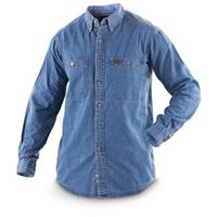 Riggs Denim Work Shirt, Antique Navy