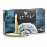 Federal Power-Shok .30-30 Win 170 Grain SPRN, 20 rounds