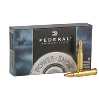 Federal Power-Shok, 8mm Mauser, SP, 170 Grain, 20 Rounds