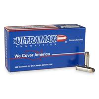 Ultramax, Remanufactured, .38 Special, JHP, 125 Grain, 500 Rounds