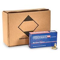 Ultramax Remanufactured, 9mm Luger, RNL, 125 Grain, 250 Rounds