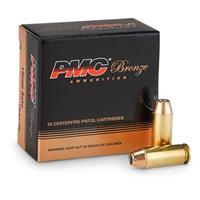 PMC™ Pistol and Revolver 10mm Auto 170 Grain JHP 25 rounds