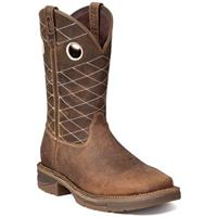 Workin' Rebel by Durango® Brown Composite Toe Work Boots, Nicotine / Chocolate