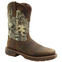 Workin' Rebel by Durango® Western Boots, Nicotine / Mossy Oak Break-Up® Infinity™