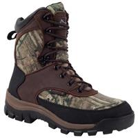 Women's Rocky® 8 inchCore Waterproof 800-gram Thinsulate™ Ultra Insulation Boots, Mossy Oak® Break-Up Infinity®
