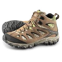 Men's Merrell Pulsate Waterproof Mid Hiker Boots, Realtree® Camo