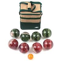 Lion Sports® Clear 107mm Tournament Resin Bocce Set in PVC Carry Bag