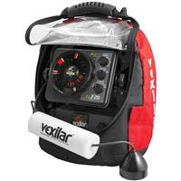 Vexilar FLX-28 Flasher Fishfinder Ultra Pack with Pro View 9 Degree Ice-Ducer
