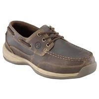 Women's Rockport Works® Steel Toe EH Boat Shoes