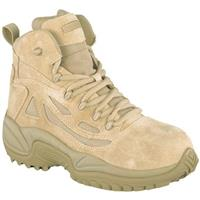 Men's Reebok® 6 inch Composite Toe Stealth Boots with Side Zip, Desert Tan