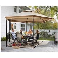 Castlecreek 13' x 13' Double Roof Hexagon Patio Gazebo