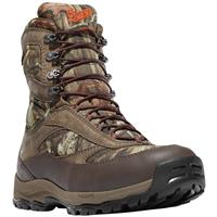 Men's Danner® 8 inch High Ground Waterproof 400-gram Thinsulate™ Insulated Camo Hunting Boots, Mossy Oak® Break-Up Infinity®