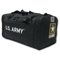 Rapid Dominance Deluxe Army Duffel Bag, Black