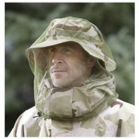 3-Pk. of HQ ISSUE Mosquito Headnets