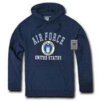 Rapid Dominance Military Fleece Pullover Hoodie, Air Force