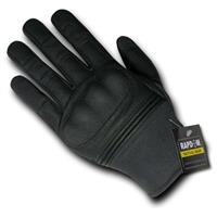 Rapid Dominance Hard-Knuckle Slip-On Gloves, Black