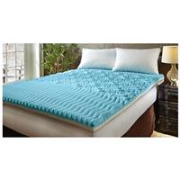 "Broyhill Sensura Gel Enhanced 4"" Memory Foam Mattress Topper"