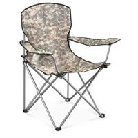 HQ ISSUE Foldable Pack Chair, Digital Camo