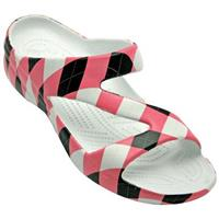 Women's Dawgs® LoudMouth Z Sandals, Pink / Black Tile
