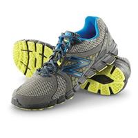 Men's New Balance 750V2 Trail Runner Shoes, Gray / Blue