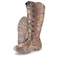 Men's Irish Setter 17 inch Waterproof Snake Guard Boots, Realtree Xtra Green