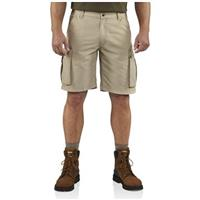 Carhartt® Rugged Cargo Shorts, Tan - Front