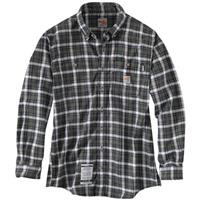 Carhartt® Flame Resistant Classic Plaid Long-sleeved Shirt