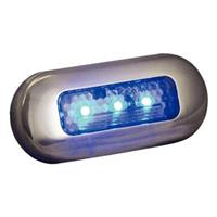 TH Marine® LED Oblong Courtesy Light, Blue