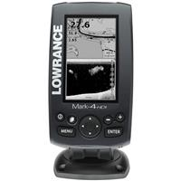 Lowrance Mark-4 HDI Combo Fishfinder & GPS Charplotter 50/200/455/800kHz Package